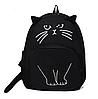 Рюкзак Городской кот Арт черный