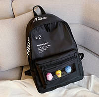 Рюкзак молодіжний Wnidrefleis Чорний, фото 1