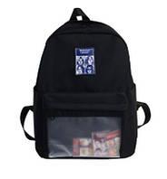 Рюкзак молодежный Adele Черный, фото 1