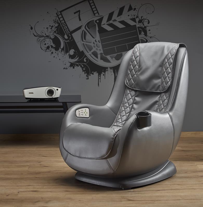 Кресло DOPIO  с массажной функцией (USB розетка) (Halmar)