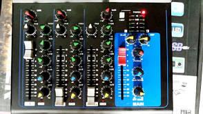 Аудио усилитель, микшерный пульт Yamaha MG-04BT 4 канальный, фото 3