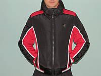 Куртка мужская зимняя молодежная  черная