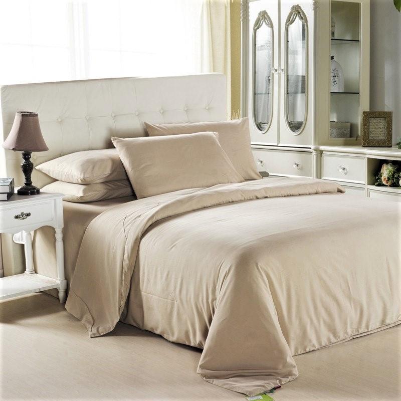 Комплект постельного белья Топленное молоко, поплин Lux, разные размеры
