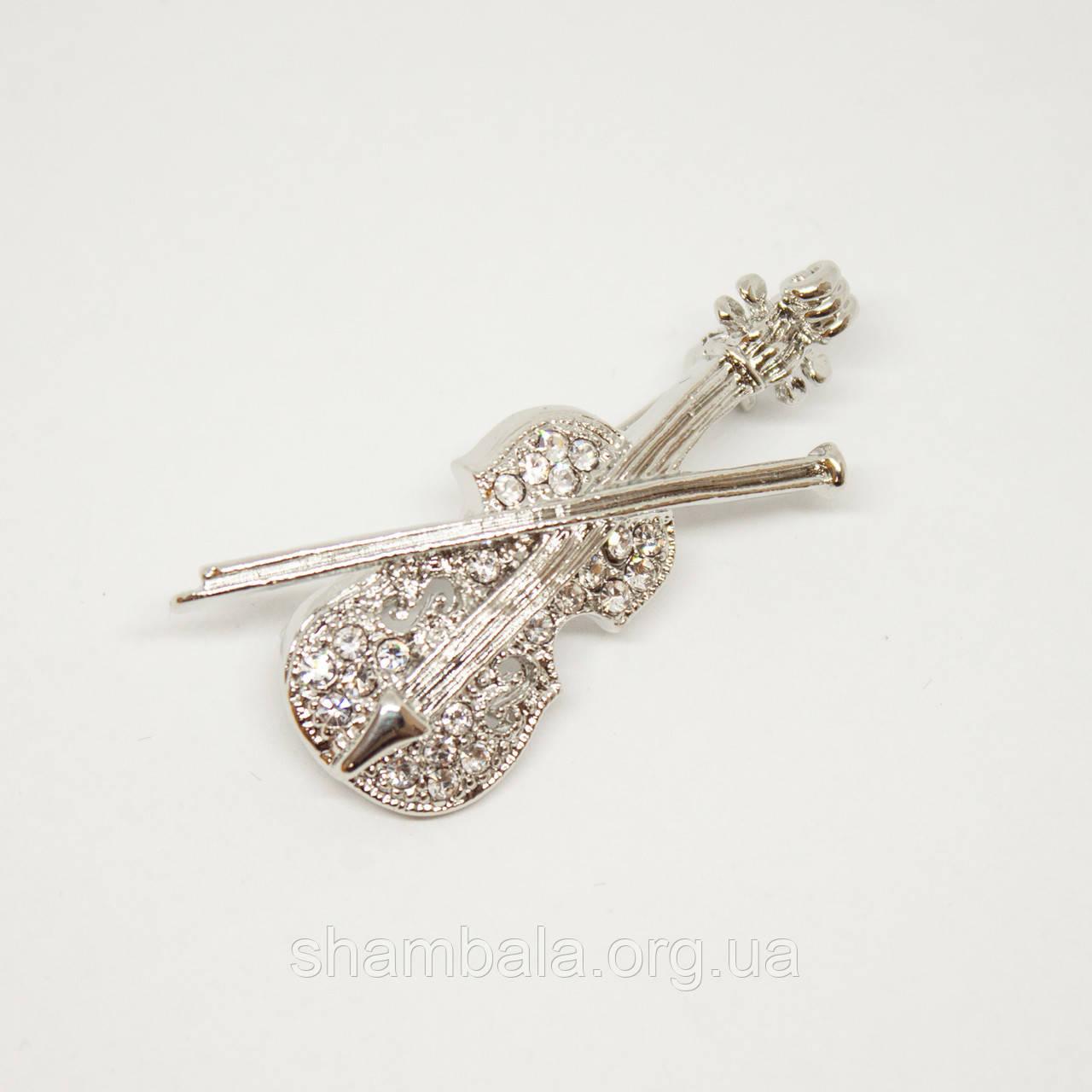 "Брошь Xuping Jewelry ""Скрипка"" (48895)"