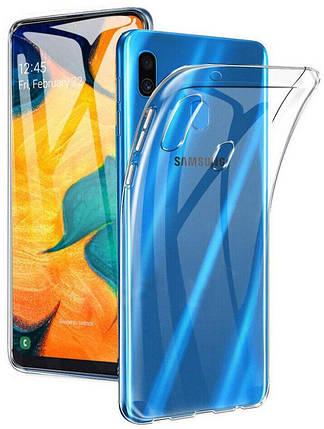 Чехол-накладка TOTO TPU High Clear Case Samsung Galaxy A20/A30 Transparent #I/S, фото 2