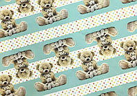 Мелованная бумага - Плюшевый мишка, Unison, PVM10-18