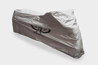 Чехол дождевик на мотоцикл (солнцеотражающий) KOMATCU