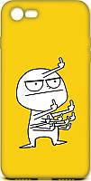 Чехол-накладка TOTO Cartoon Soft Silicone TPU Case Apple iPhone 7/8/SE 2020 FK9 Yellow #I/S