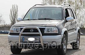 Кенгурятник высокий (защита переднего бампера) Suzuki Grand Vitara 1997-2005