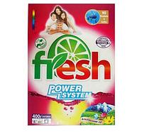 Порошок стиральный карт. уп. 400 гр ТМ Fresh автомат Альпийский луг 20 шт. / Уп