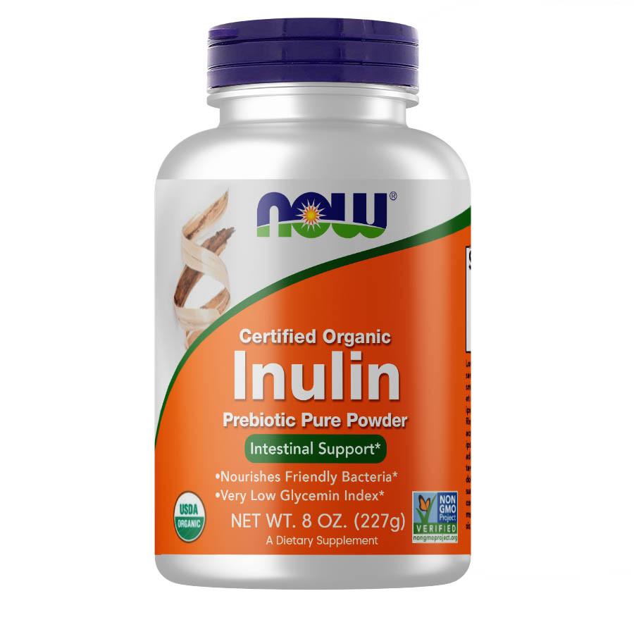 Натуральная добавка NOW Inulin powder, 227 грамм