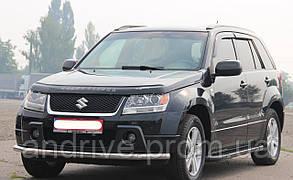Защита переднего бампера (ус одинарный) Suzuki Grand Vitara 2005-2012