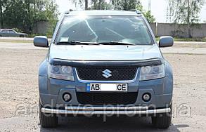 Защита переднего бампера (ус двойной) Suzuki Grand Vitara 2005-2012