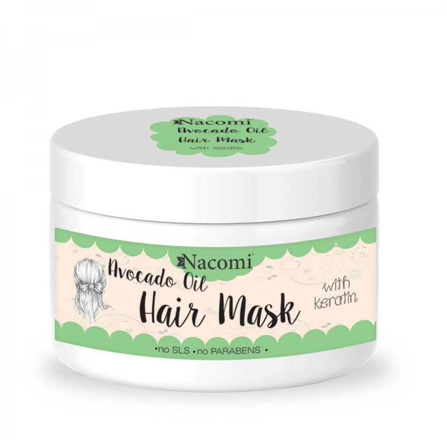 Купить Маска для волос с маслом авокадо и кератином Nacomi Avocado Oil Hait Mask 200 мл (5902539700633)
