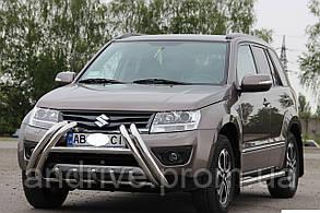 Кенгурятник (защита переднего бампера) Suzuki Grand Vitara 2012-2015