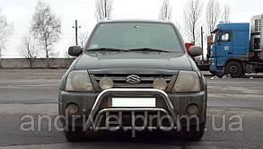 Кенгурятник двойной (защита переднего бампера) Suzuki Grand Vitara XL-7 2001-2006
