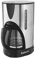 Кофеварка капельная Saturn  ST-CM0168 (нерж. 1,5 л)