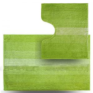 Набір килимків для ванної 2 шт зелений Махрамат Dariana D-5160