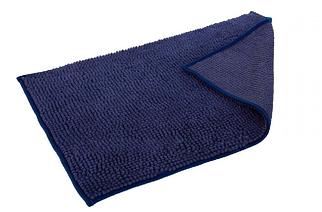 Килимок для ванної 50x80 см синій Махрамат Dariana D-6103