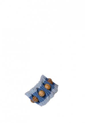 """Набор для творчества. Джинсовые украшения """"Браслет с бусами"""" (ДЖ-001) DJ-001, фото 2"""