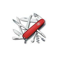 Складной нож Victorinox Викторинокс Huntsman 91 мм 18 предметов красный