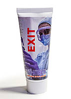 Антибактеріальний спиртової шкірний гель для рук антисептик санитайзер EXIT 75 мл