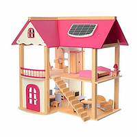 Деревянный домик для кукол Bambi MD 1068