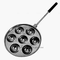 Форма для приготовления творожных, сырных шариков / пончиков (Такоячница) на 7 штук, фото 1