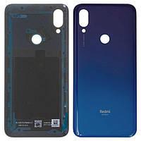 Задняя крышка Xiaomi Redmi 7, синяя