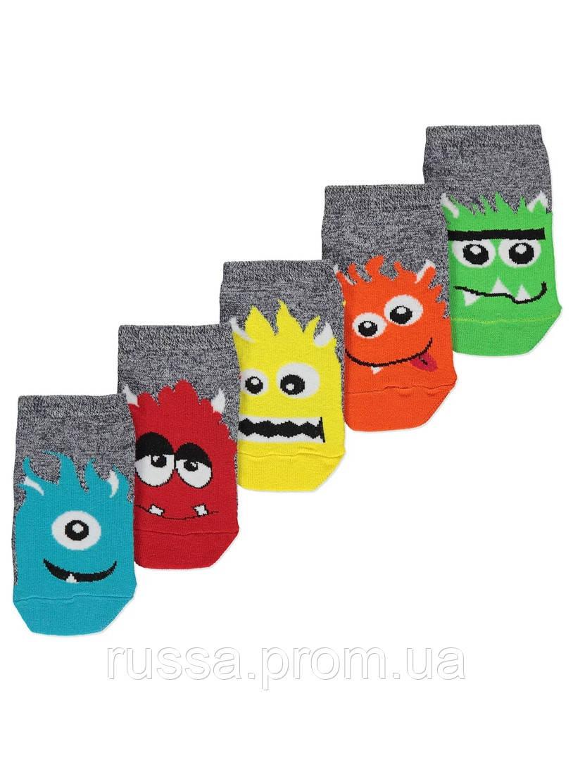 Набор детских носочков 5 пар Монстр Джордж для мальчика