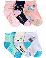 Набор детских носочков 6 пар ОшКош для девочки