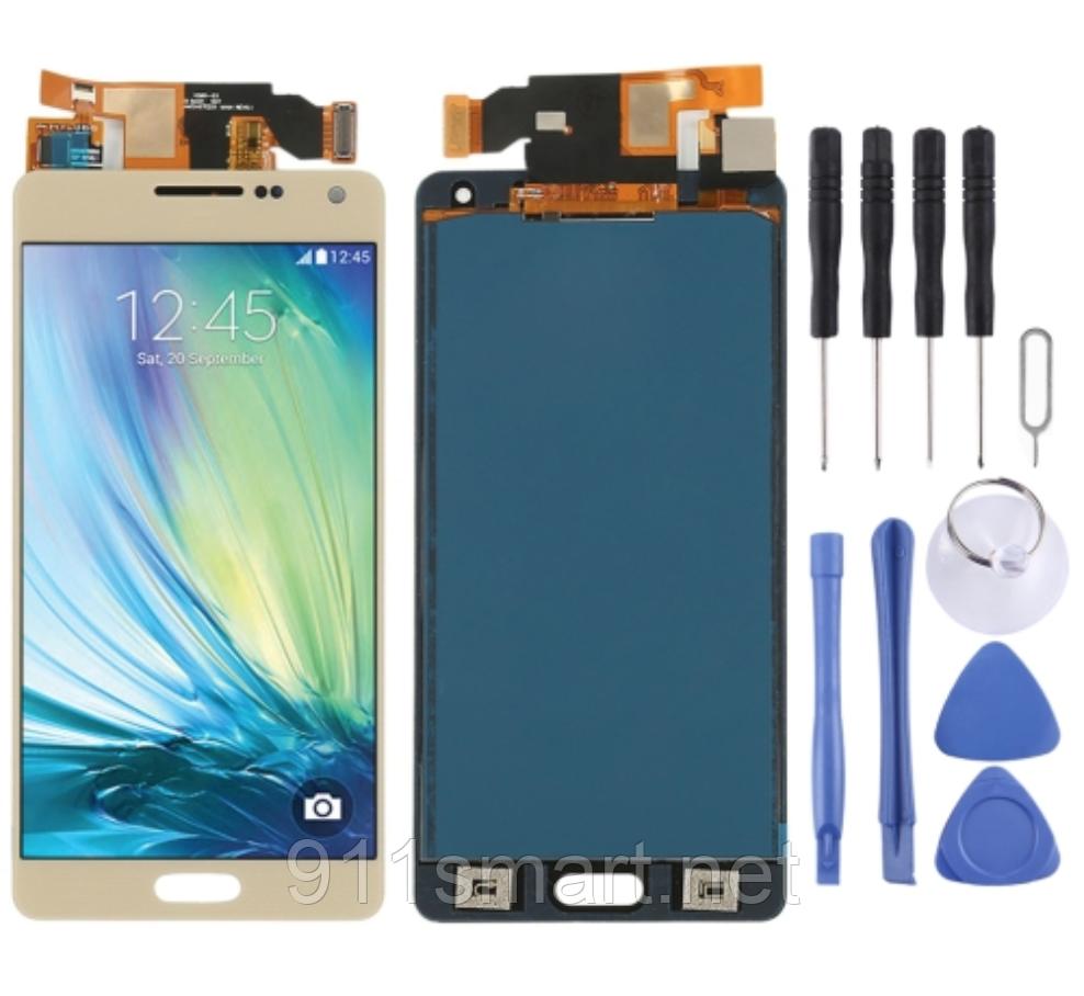 Lcd дисплей модуль, тачскрин  Samsung Galaxy A5, A500F, A500FU, A500M,