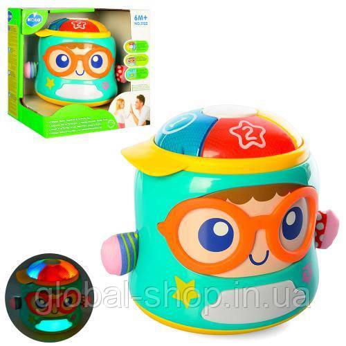 Музыкальная игра 3122 Счастливый младенец (12) звук, свет, движение, в коробке