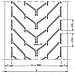 1200 ЕР400/3 3,5+1,5 А94 Шевронная конвейерная лента   DIN22102, фото 2