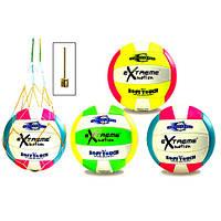М'яч волейбол VB0119, 280г, в комплекті з голкою та сіткою