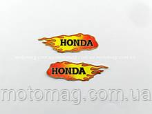 Наклейка Honda, вогонь