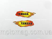 Наклейка Yamaha, вогонь