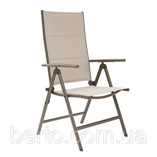 """Кресло для террасы раскладное """"Orion"""" светлое алюминиевое"""