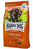 Сухой корм для собак средних и больших пород с чувствительным пищеварением Happy Dog Toscana Хэппи Дог 4 кг