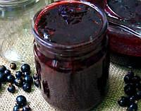Полезное варенье из черной смородины 0,5 л