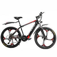 Электровелосипед Zhengbu M8 Черный с красным (298387)