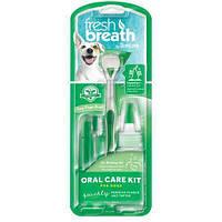 Набор для ухода за ротовой полостью собак мелких пород собак Тропиклин Tropiclean Oral Care Kit Puppies