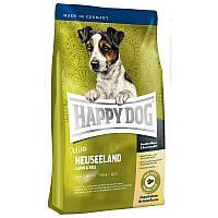 Сухой корм для собак мелких пород с мясом ягненка и рисом Happy Dog Supreme Mini Neuseeland Хэппи Дог Мини