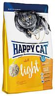 Корм диетический для котов с избыточным весом и склонных к полноте Happy Cat Supreme Adult Light Хеппи Кет 10к