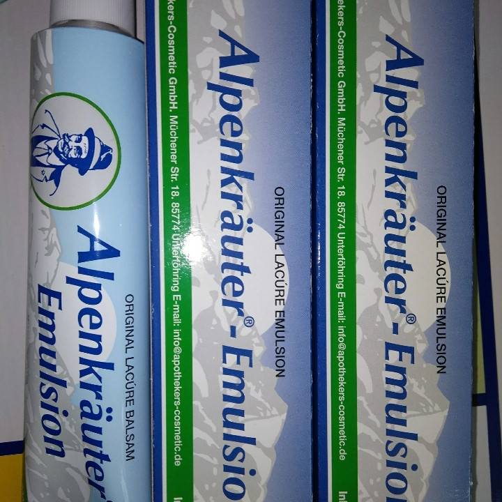 Alpenkräuter emulsion gel мазь гель емульсія для суглобів