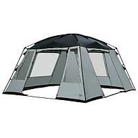 Палатка шатер High Peak Siesta (Gray) с москитной сеткой