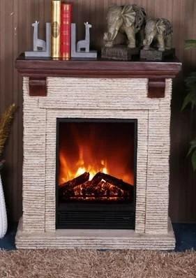 Электрический пристенный каминокомплект Bonfire California искусственный камень Полистоун