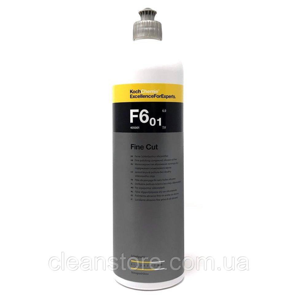 Fine Cut F6.01 - мелкозернистая абразивная полировальная паста, 1 л.