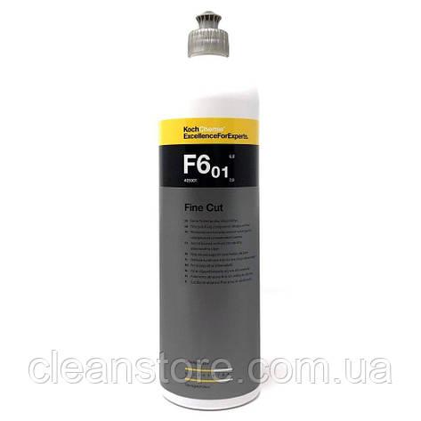 Fine Cut F6.01 - мелкозернистая абразивная полировальная паста, 1 л., фото 2