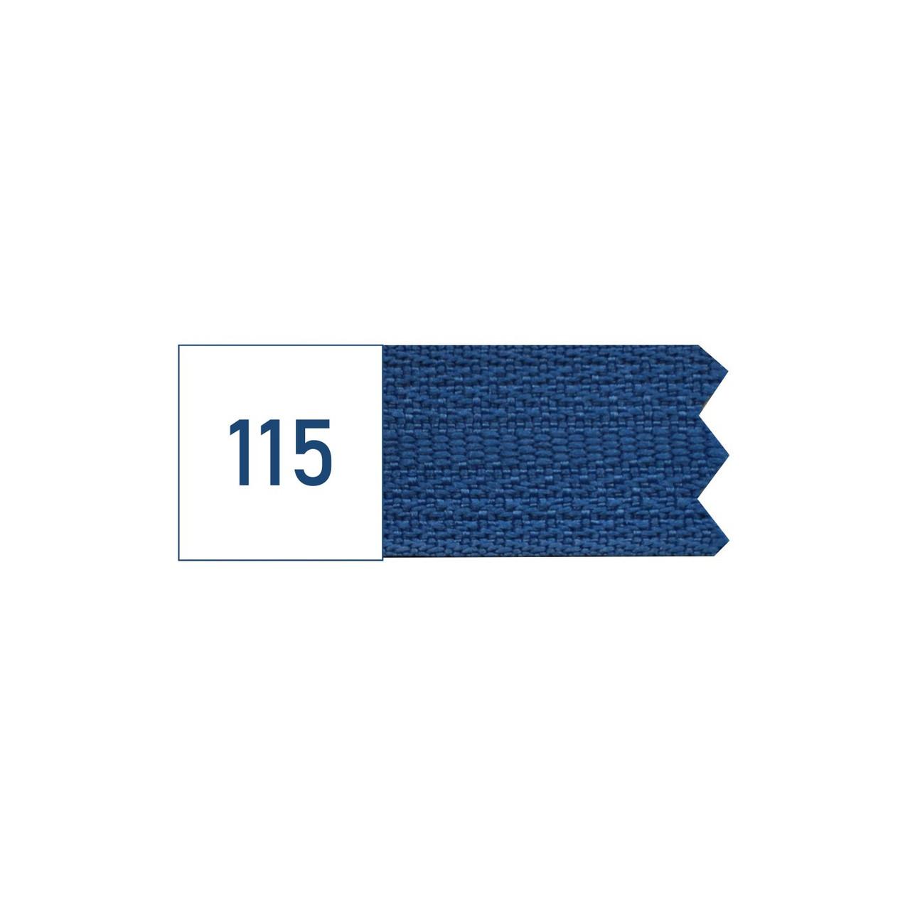 Молния спиральная №5 рулонная S-115 синий яркий (рул 200м) ZIP